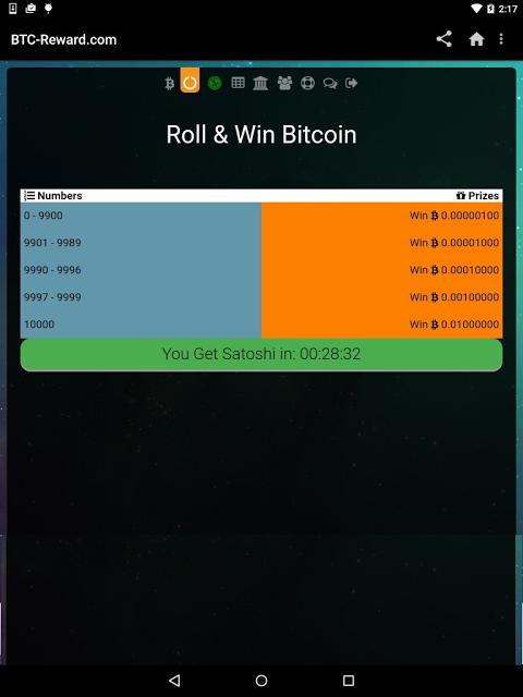 BTC Reward 3