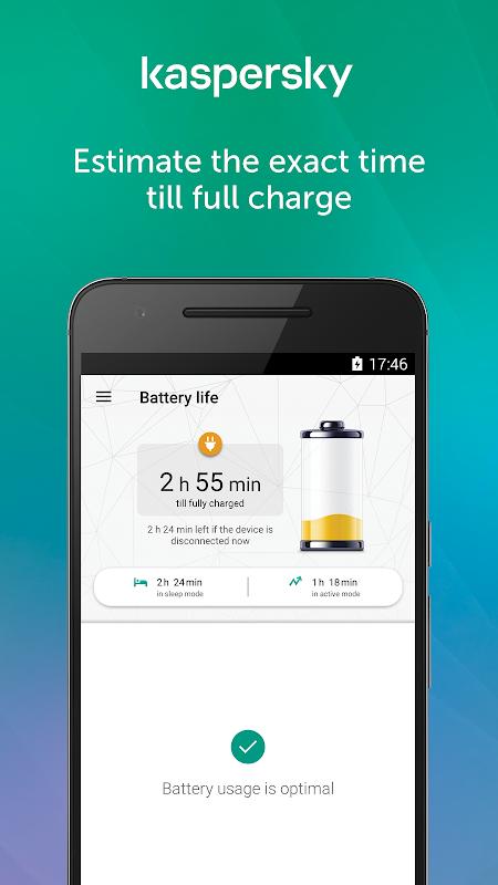 Kaspersky Battery Life 4