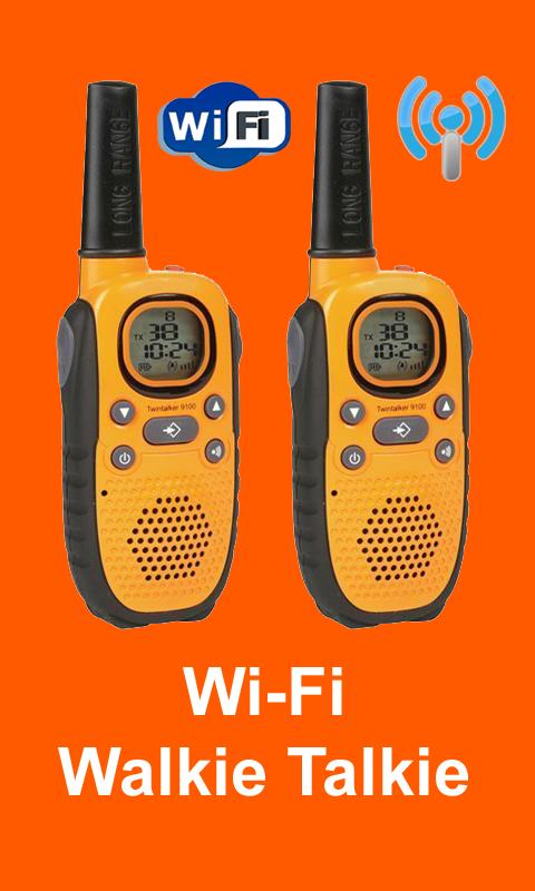 Wi-fi Walkie Talkie 1