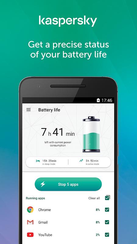Kaspersky Battery Life 2