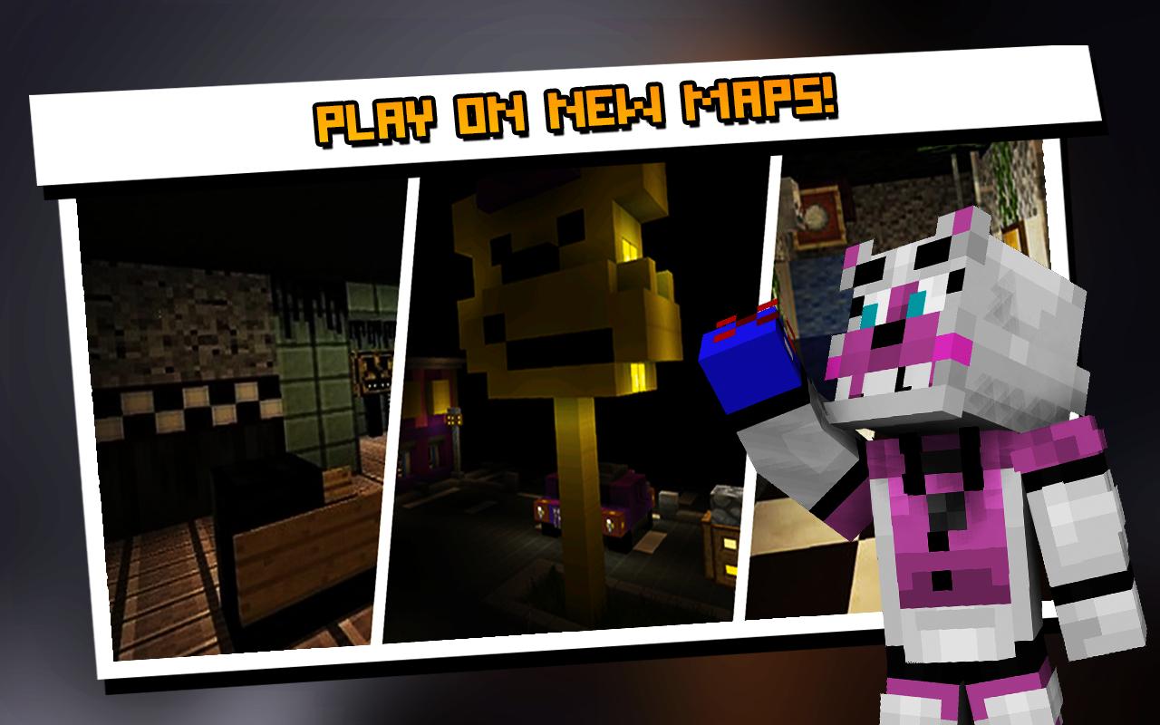 Maps FNAF para Minecraft PE 2