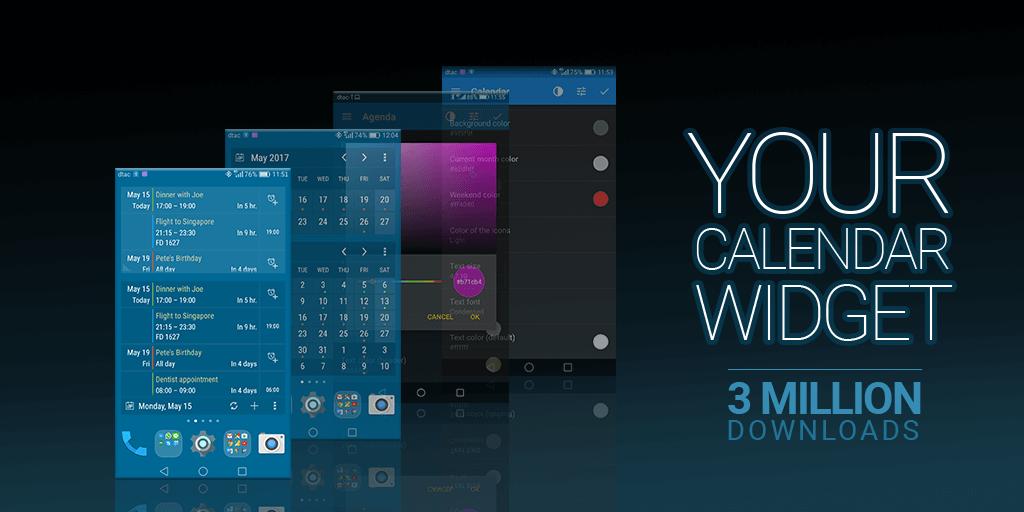Calendar Widget 2