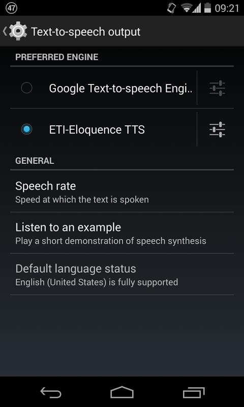 ETI-Eloquence TTS 1