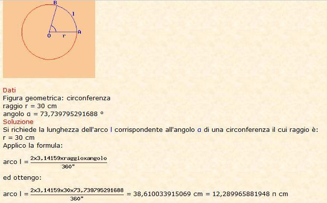 Risolve la geometria 3
