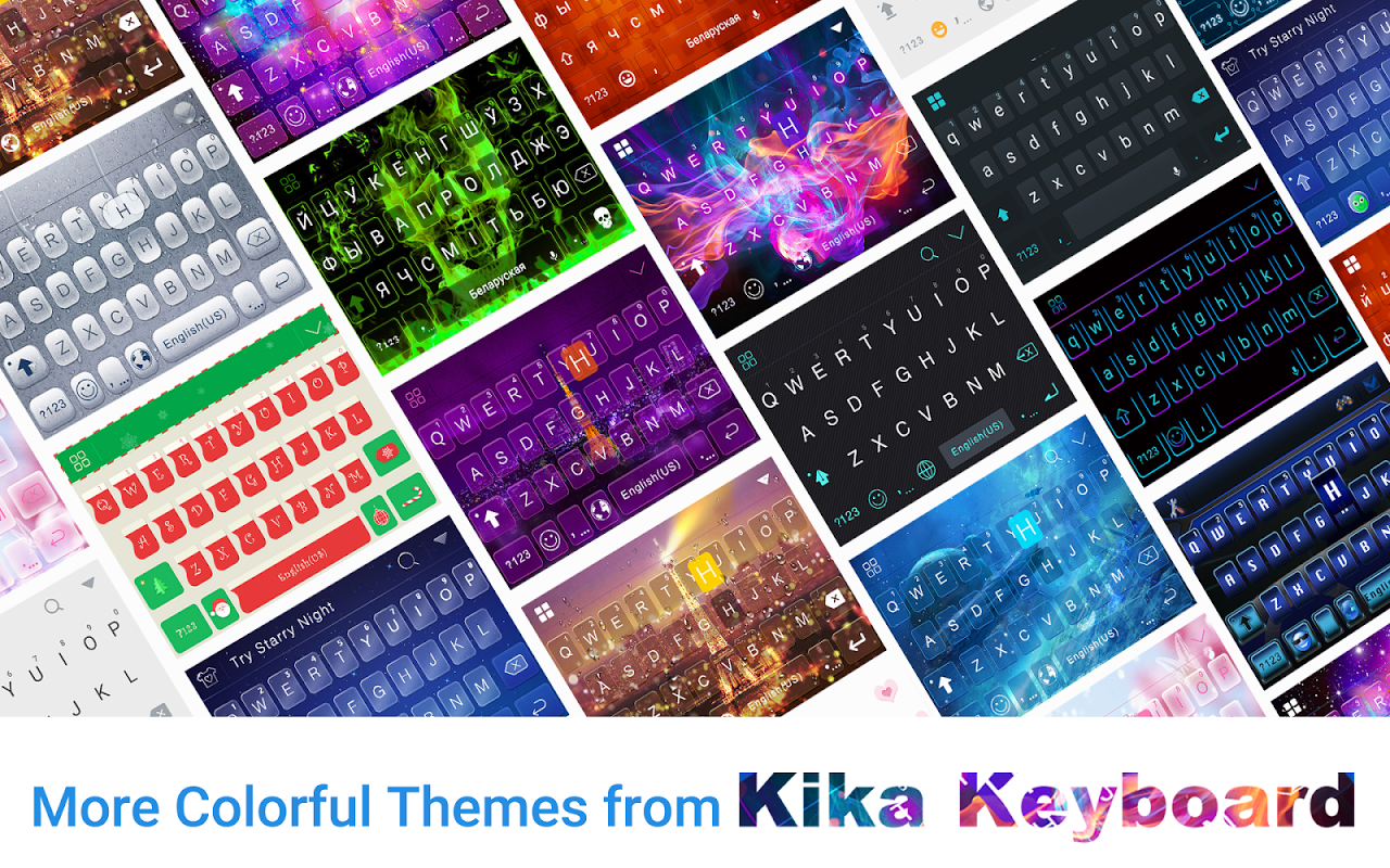 Glitz Star Emoji Kika Keyboard 1