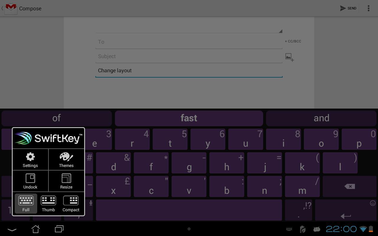 SwiftKey Keyboard Free 1