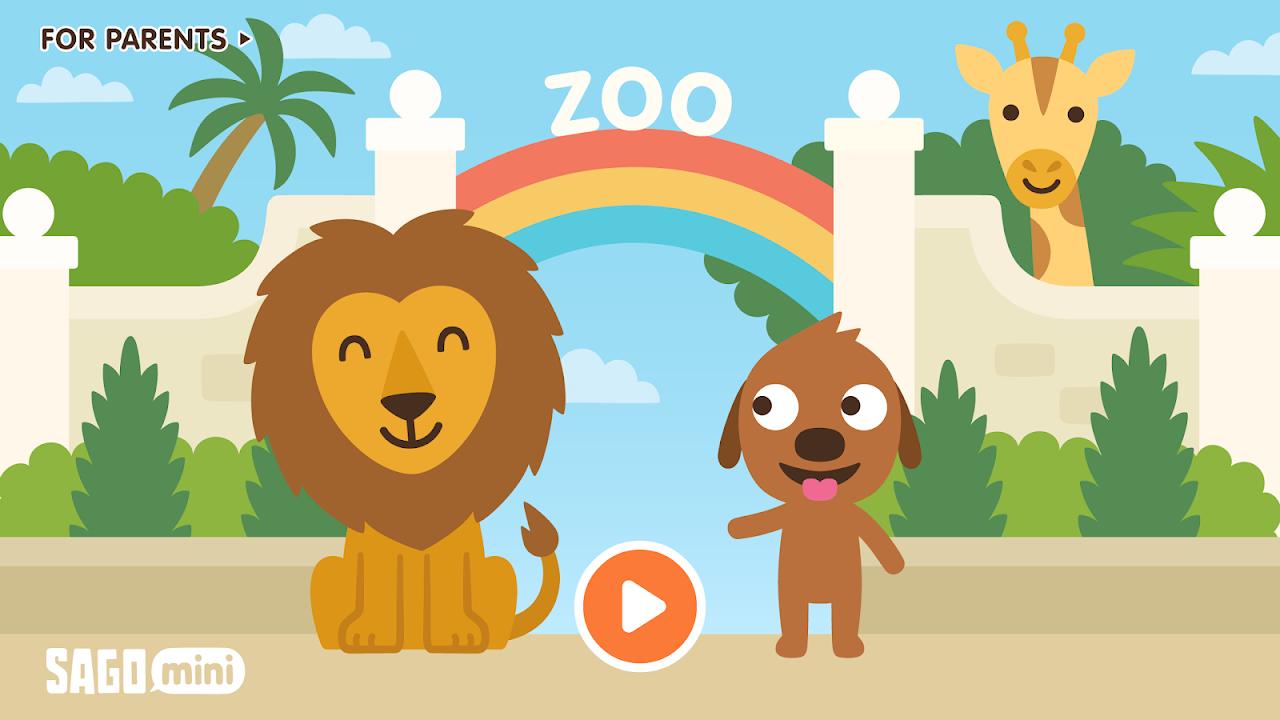 Sago Mini Zoo 1