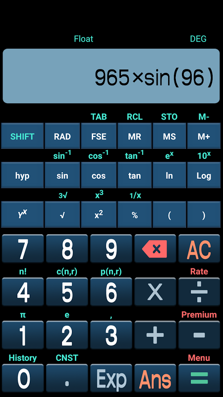 Scientific Calculator Plus 3