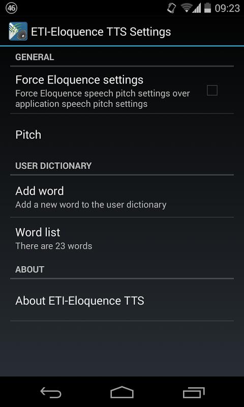 ETI-Eloquence TTS 3