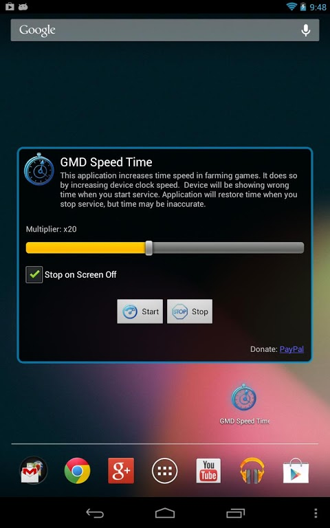 GMD Speed Time 1