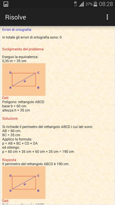 Risolve la geometria 2
