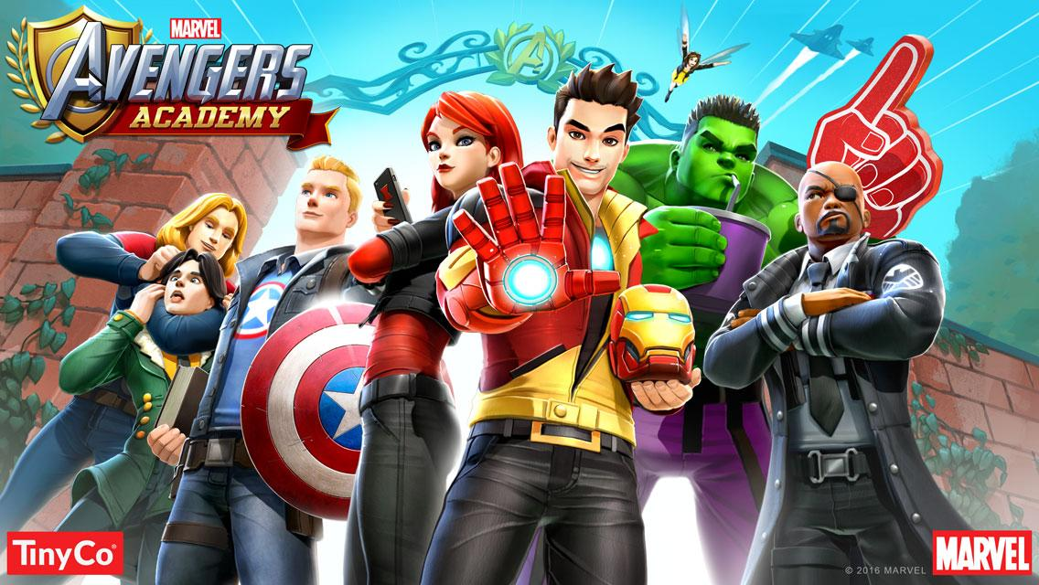 MARVEL Avengers Academy beta 1