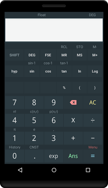 Scientific calculator 4