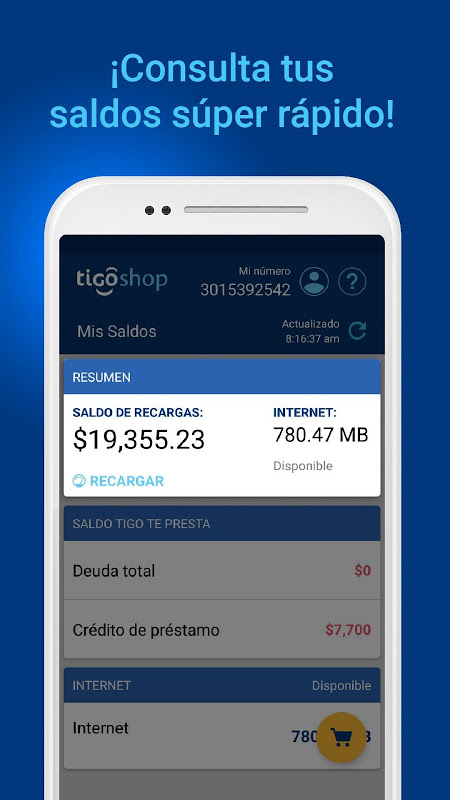 Tigo Shop Colombia 1