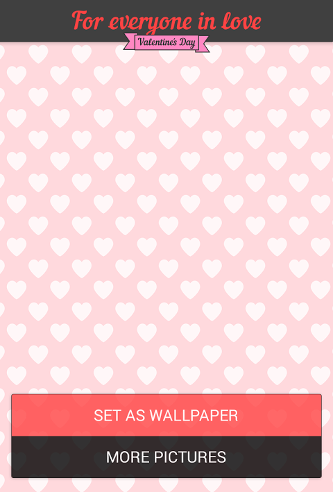 Love hearts. Theme for Mail.Ru Agent 1