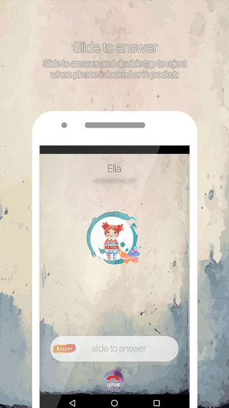 Water Color Call Dialer 4