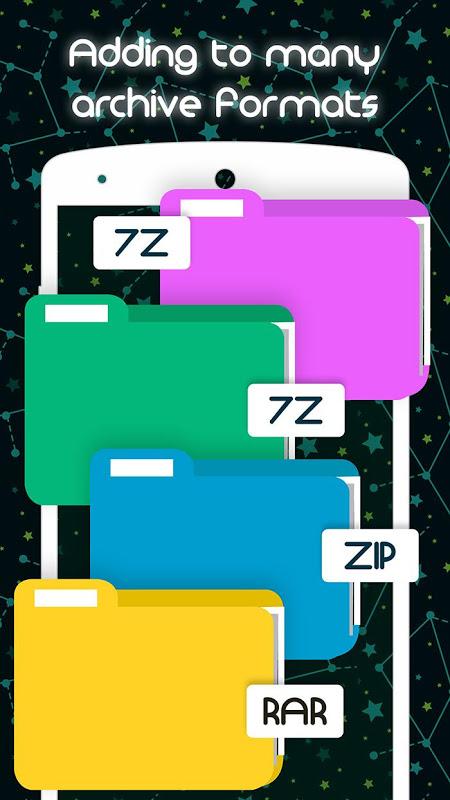 Unrar Unzip Files Zip Rar 7z Tar 2