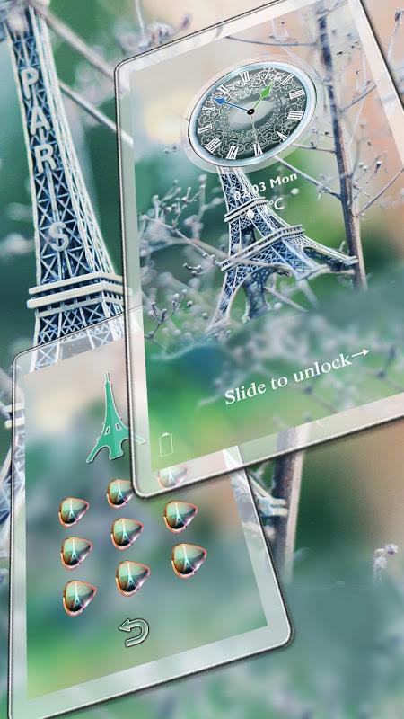 Eiffel Tower Of Paris Locker 1