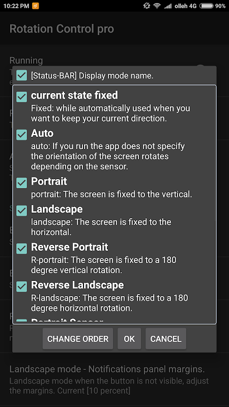 Screen rotation control pro 1