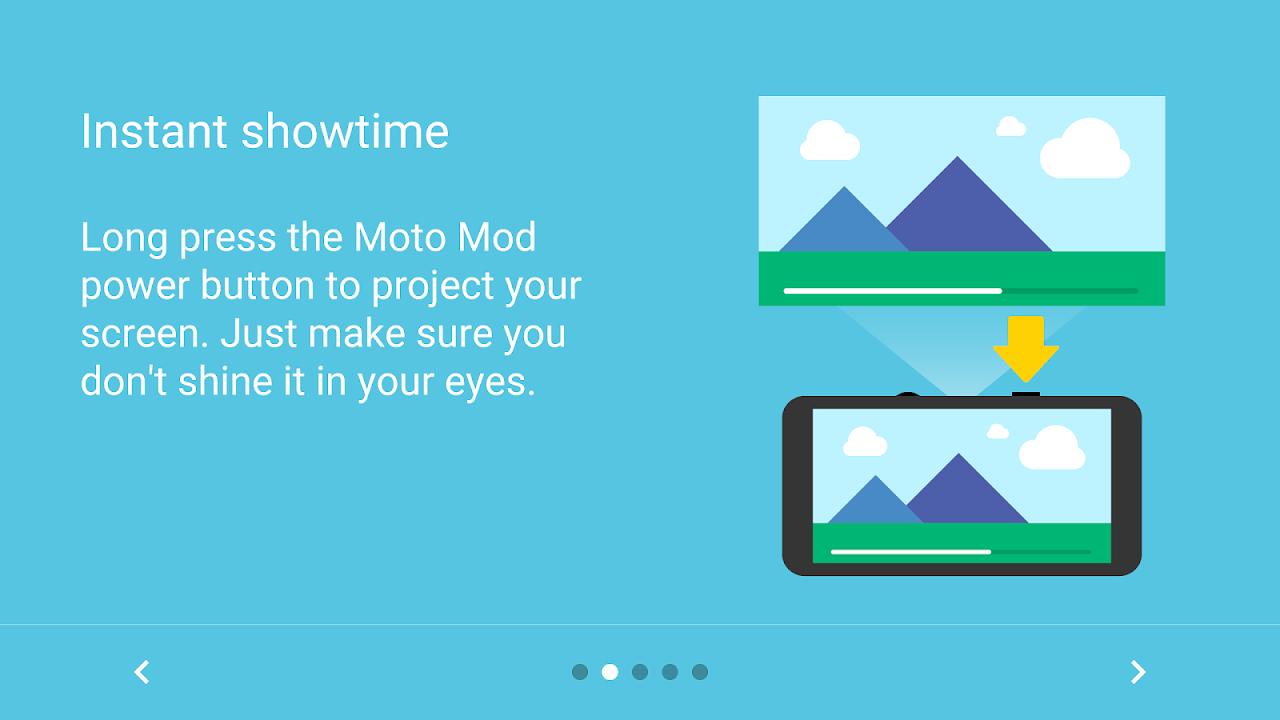 Moto Mods Projector 2