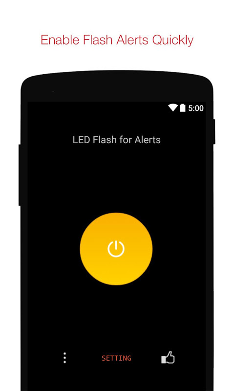 Ringing Flashlight Alerts 1