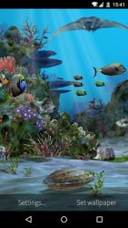 3D Aquarium Live Wallpaper HD 1