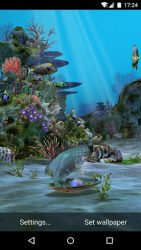 3D Aquarium Live Wallpaper HD 2