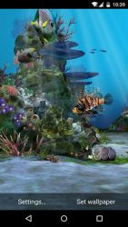 3D Aquarium Live Wallpaper HD 3