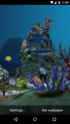 3D Aquarium Live Wallpaper HD 4