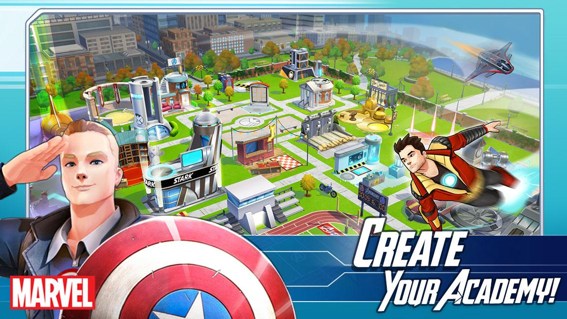 MARVEL Avengers Academy beta 2