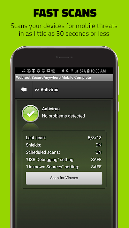 Webroot Mobile Security & Antivirus 2