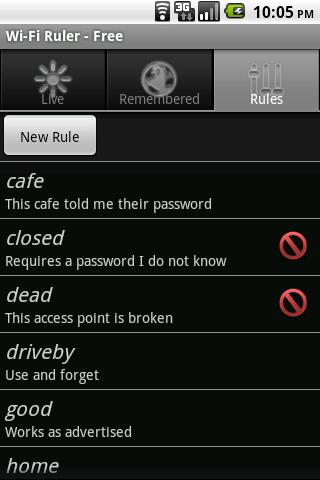 Wi-Fi Ruler (a WiFi Manager) 2