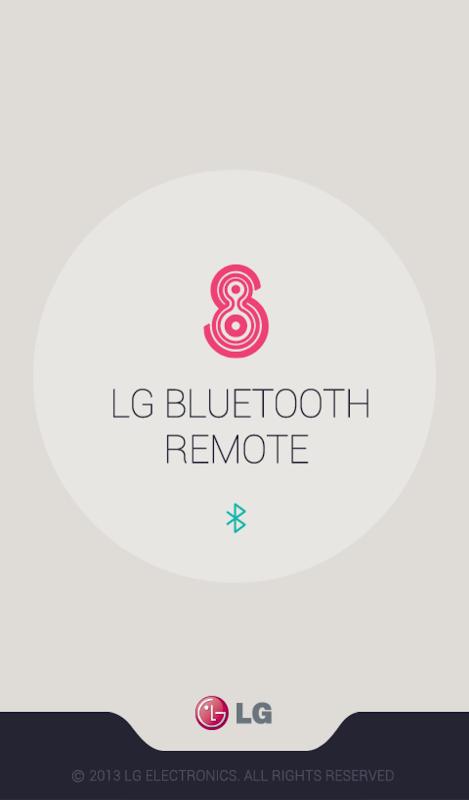 LG Bluetooth Remote 1