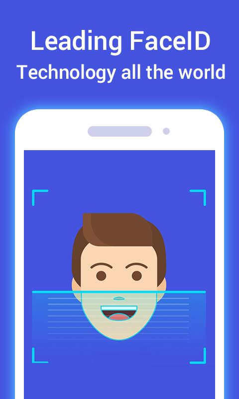 Face ID Lock Screen 1