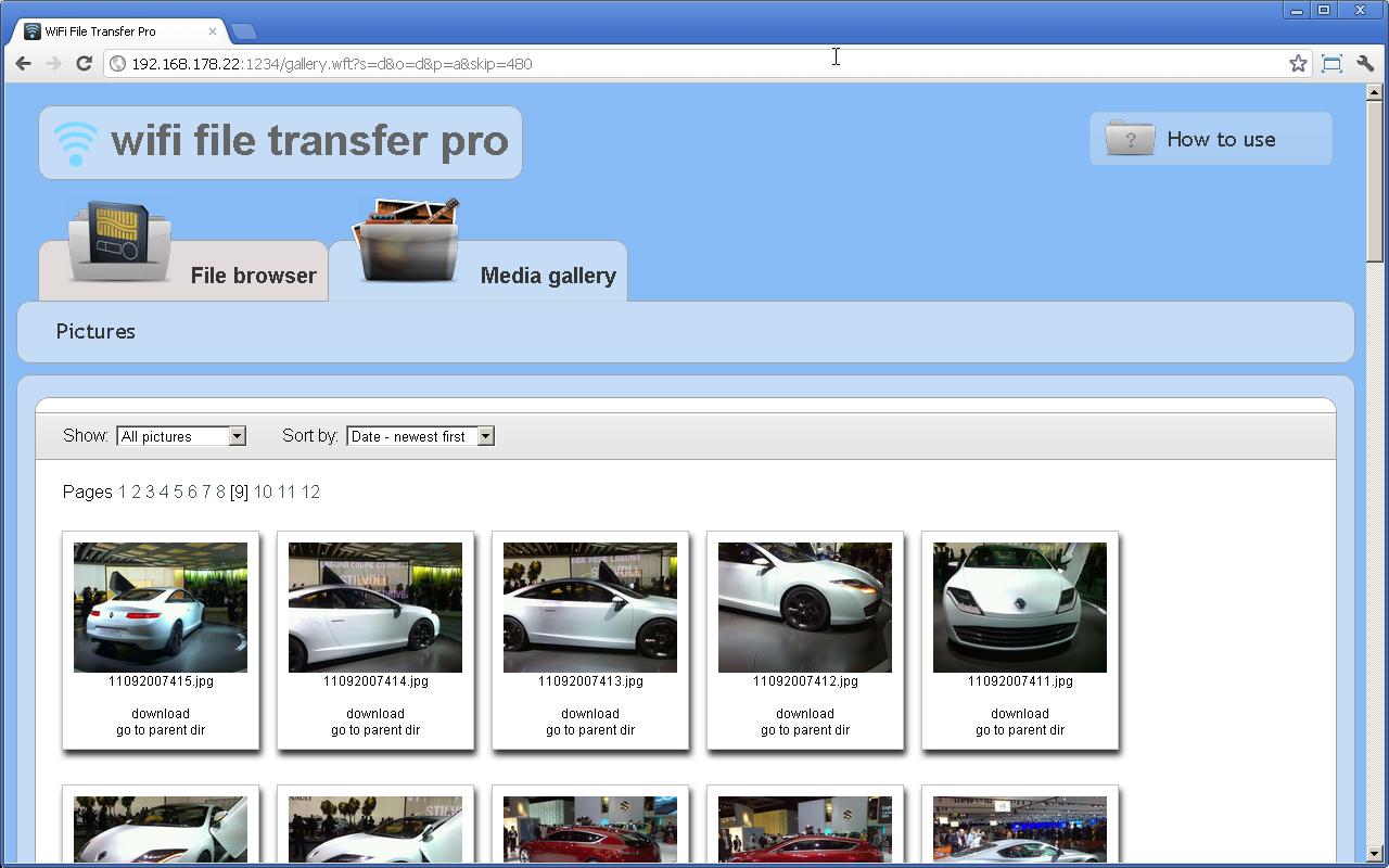 WiFi File Transfer Pro 2