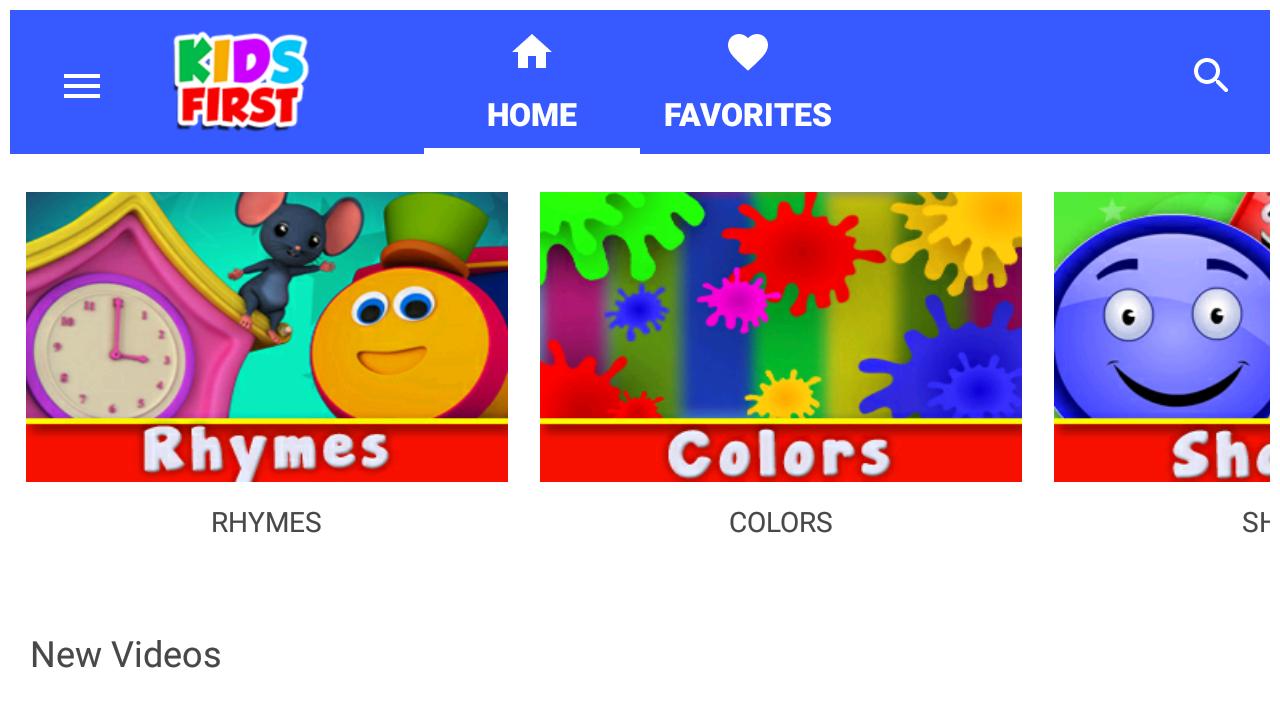 Kids Videos & Nursery Rhymes 1