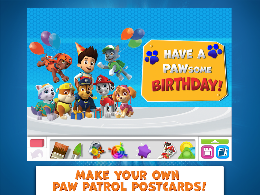 PAW Patrol Draw & Play 4