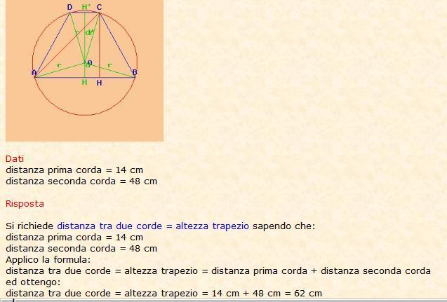Risolve la geometria 4