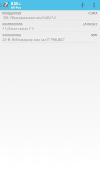 My BSNL App 2
