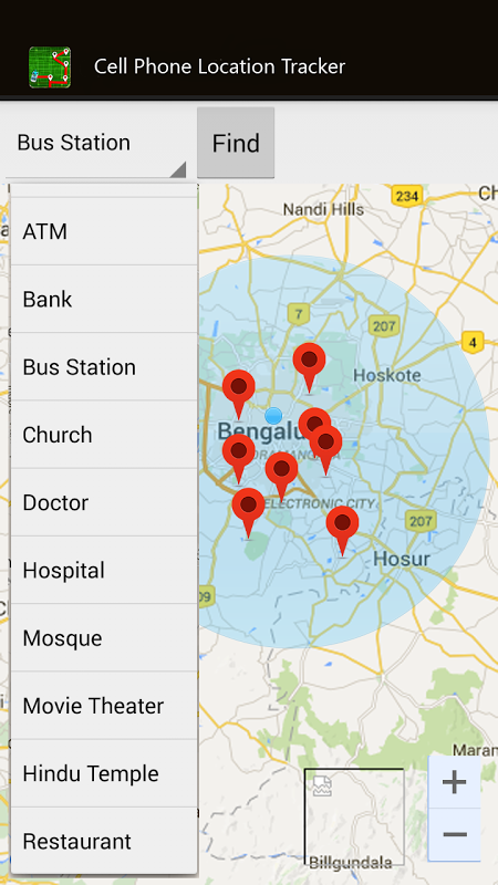 Cell Phone Location Tracker 4