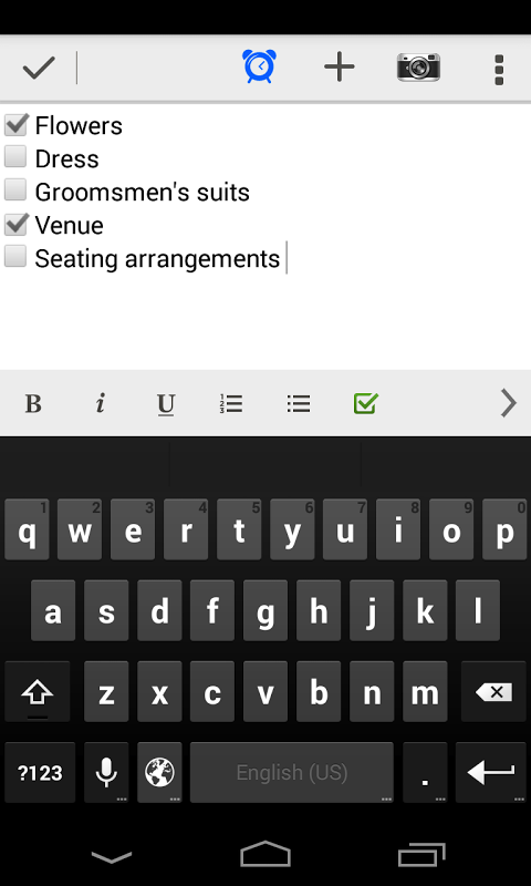 Evernote para Android 4