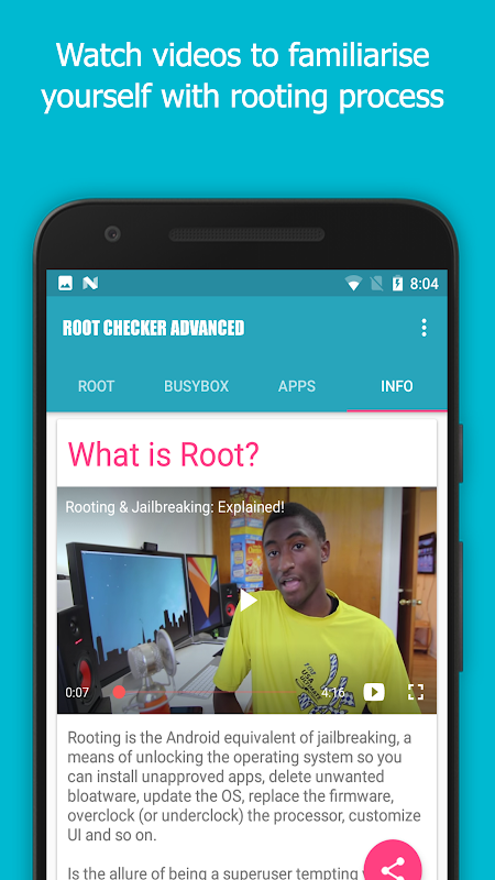 Root Checker Advanced FREE [Root] 4