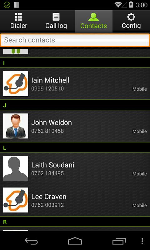 Zoiper VoIP SIP IAX Softphone 2