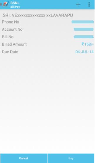 My BSNL App 3