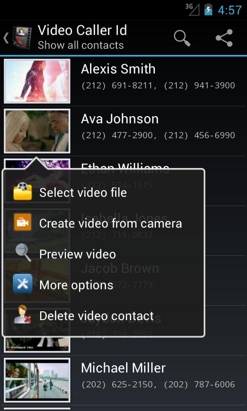 Video Caller Id 4