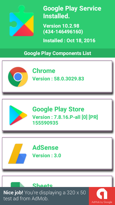 Play Service Apps Utility 2