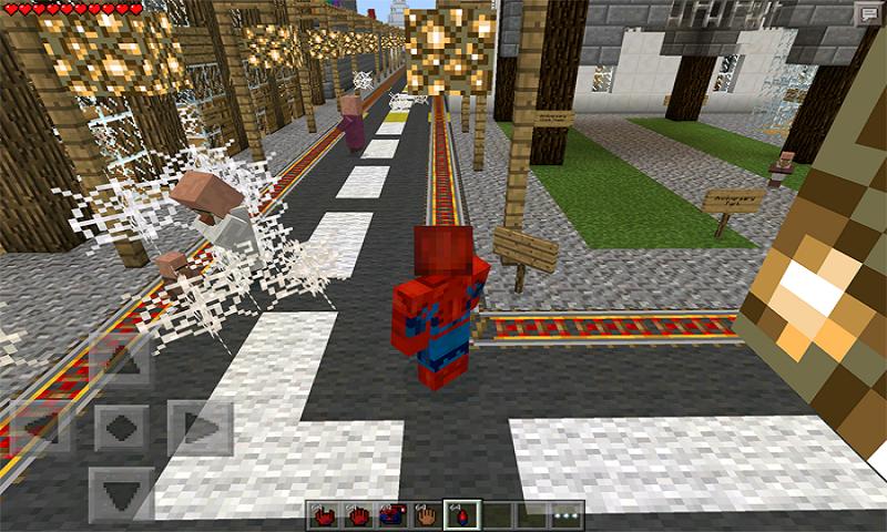 Spinnerman MOD para MCPE 2