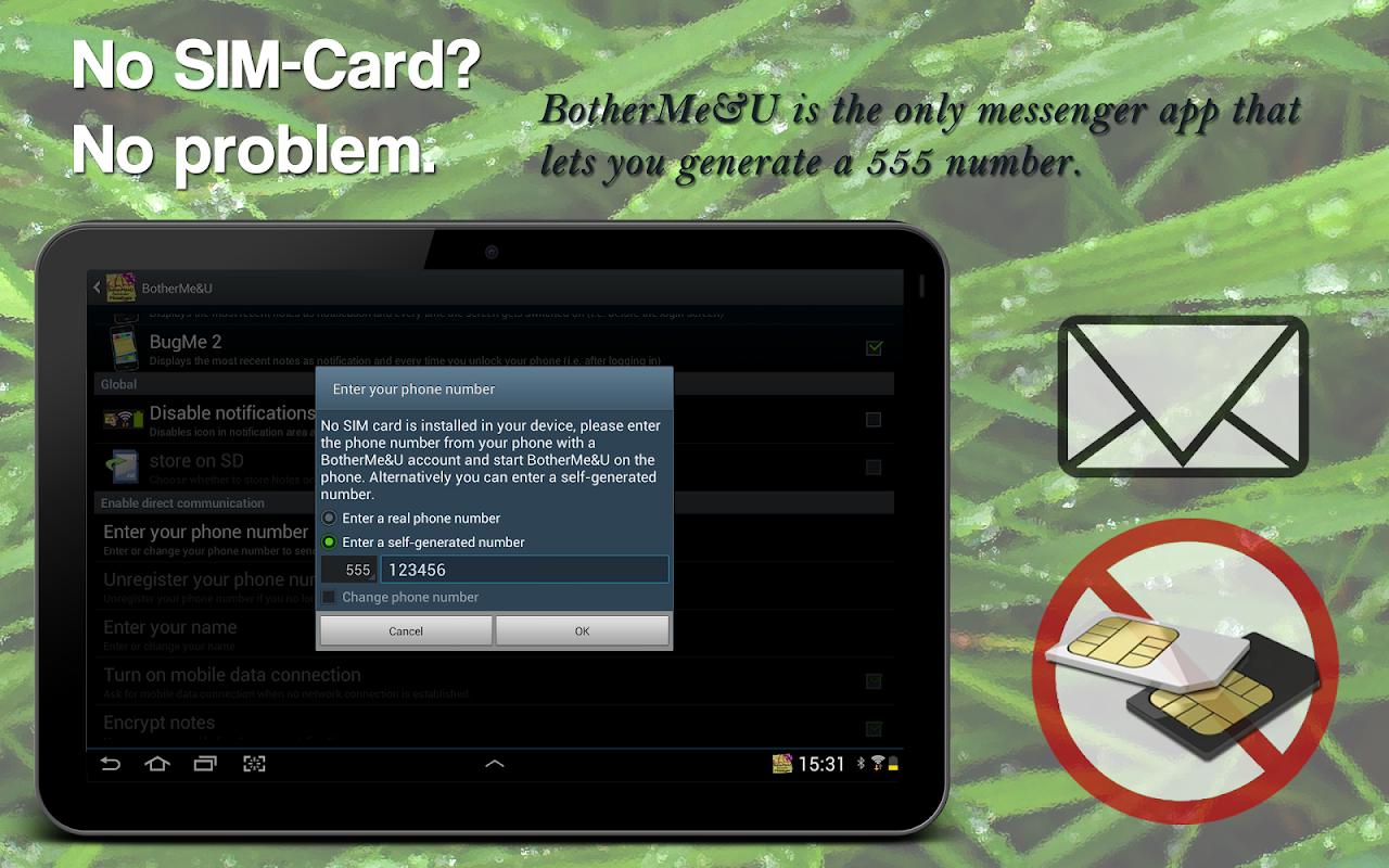 BotherMe&U Reminder Messenger 4