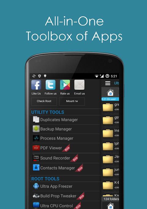 Ultra Explorer [Root Browser] 1