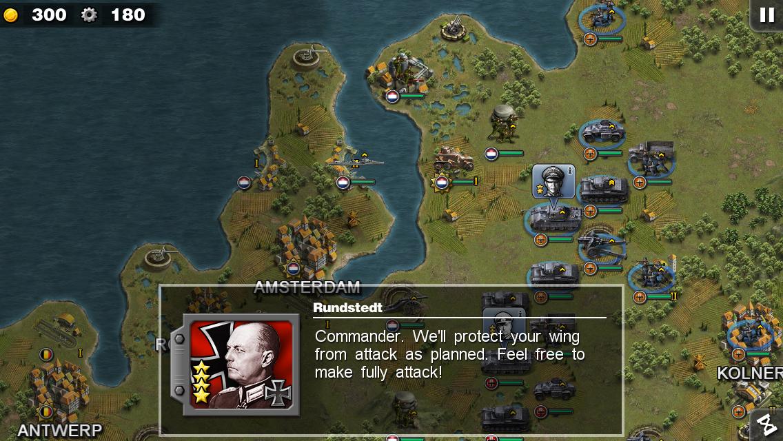 Glory of Generals 1